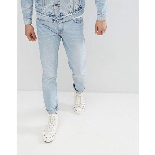 Weekday Friday Spring Blue Rigid Skinny Jeans - Blue, kolor niebieski