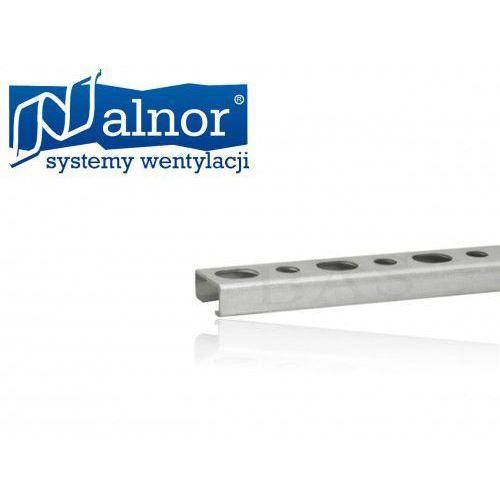 Szyna montażowa, perforowany ceownik (profil) 30mm/20mm/1,5mm/2mb (LDB-30-20-150-0200), LDB-30-20-150-0200
