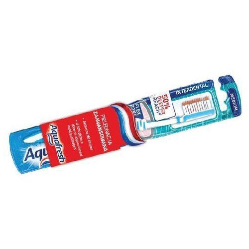 Aquafresh  interdental szczoteczka do zębów medium green (50% deeper reach) (3830029291854)