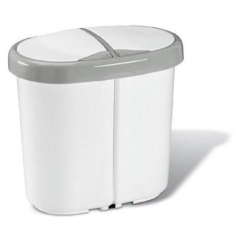 Meliconi Kosz na śmieci multispace duo 25l biały + zamów z dostawą jutro!