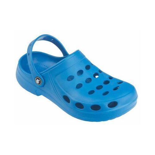 Chodaki ogrodowe r. 38 2cl damskie niebieskie marki Flame shoes