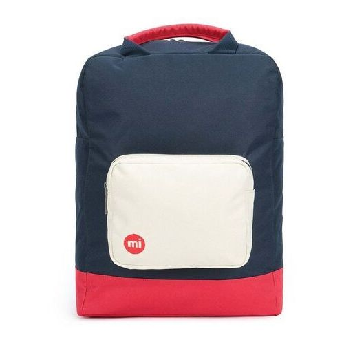 plecak MI-PAC - Tote Backpack Decon Colour Block-Blue Black/Red (S06)