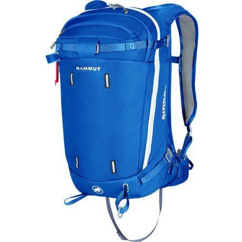 light protection airbag 3.0 plecak lawinowy 30 l niebieski 2018 plecaki lawinowe marki Mammut
