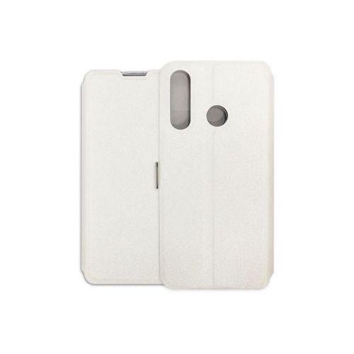 Huawei p smart plus (2019) - etui na telefon wallet book - biały marki Etuo wallet book