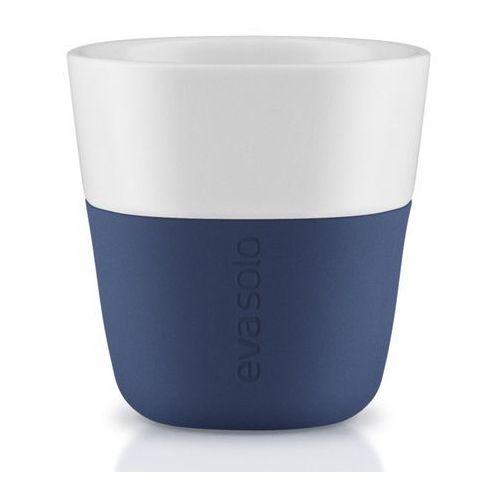 Eva solo Porcelanowa filiżanka do espresso, navy blue, 2 szt. - (5706631162852)