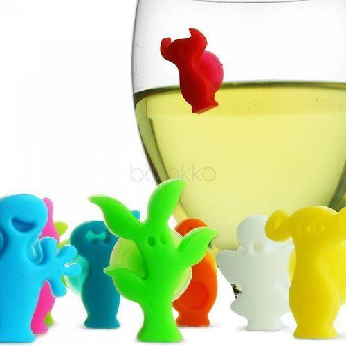 Vacu vin Znaczki na szklanki i kieliszki party people | odbierz rabat 5% na pierwsze zakupy >>