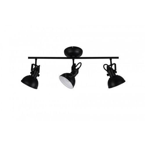 Reality GINA reflektor Czarny, 3-punktowe - Klasyczny - Obszar wewnętrzny - GINA - Czas dostawy: od 3-6 dni roboczych (4017807406429)