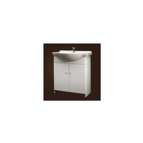 DEFTRANS HIT Zestaw łazienkowy szafka + umywalka 75 026-D-0750+1523 z kategorii Szafki łazienkowe