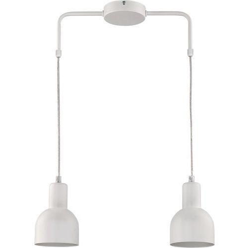 Lampa wisząca Sigma Kika 2 biała metal do jadalni, kolor Biały