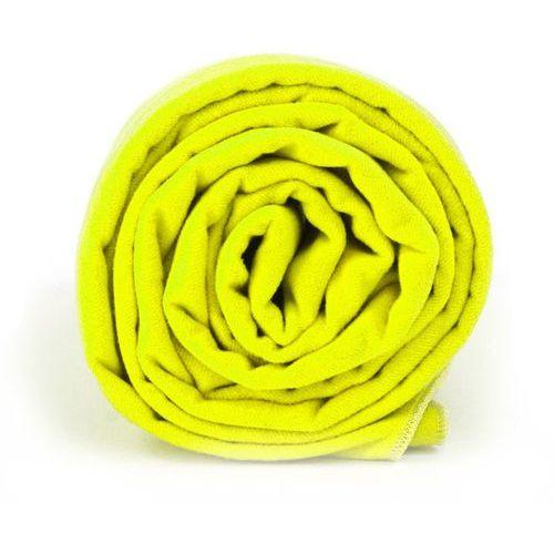 Dr.bacty Ręcznik treningowy l neon żółty (5902596774790)