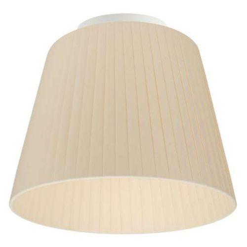 Plafon LAMPA sufitowa KAMI ELEMENTARY S CP 1/C/ECRU Sotto Luce abażurowa OPRAWA ecru, KAMI ELEMENT S CP 1/C/ECRU