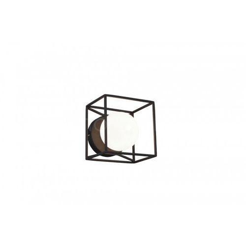 Reality Kinkiet gabbia czarny, 1-punktowy - dworek - obszar wewnętrzny - gabbia - czas dostawy: od 3-6 dni roboczych (4017807403541)