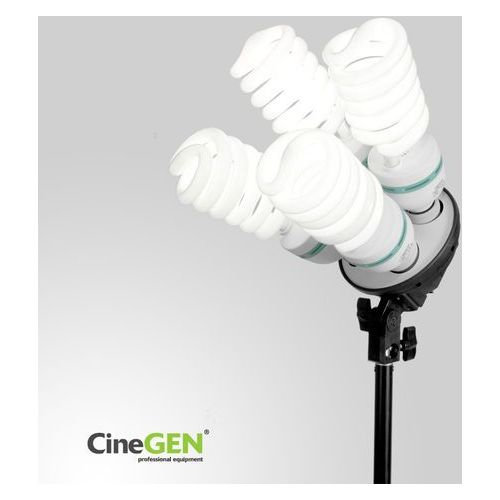 Cinegen Lampa światła stałego softbox 50x70cm 4x 85w 230cm
