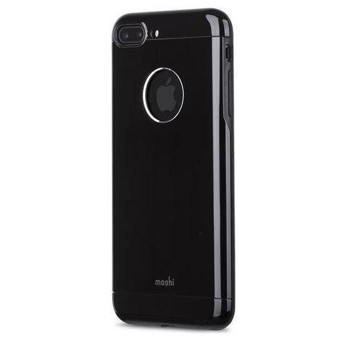 Moshi Armour - Etui aluminiowe iPhone 7 Plus (Jet Black), kolor czarny