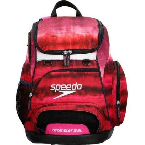 speedo Teamster Plecak pływacki 35l czerwony/czarny 2018 Plecaki i torby pływackie (5053744314921)