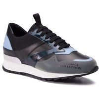 Versace Sneakersy collection - v900734 vm00436 va39 grigro/celeste/nero/ne