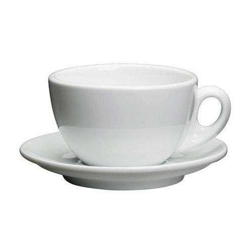 filiżanka do kawy, ze spodkiem, 0,2 l, biała, CI-215021 (10956943)