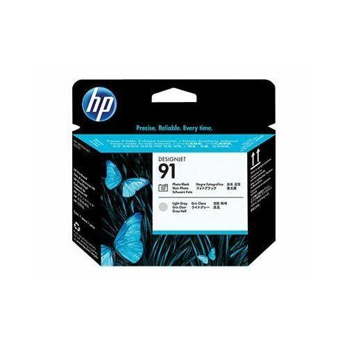 HP głowica Photo Black + Light Gray Nr 91, C9463A