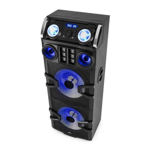 Malone Big Party 2500 System audio dla DJów LED Karaoke 240 W RMS