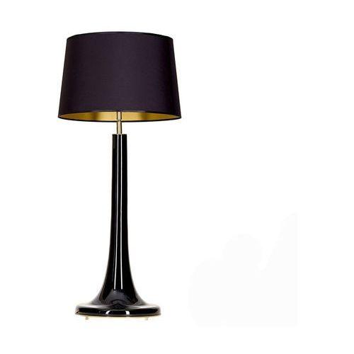 4concepts Lampa oprawa stołowa lozanna black 1x60w e27 czarny/złoty l214222240