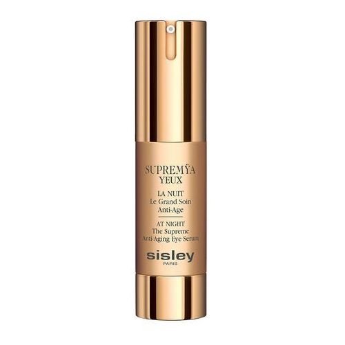 Sisley Supremya yeux at night the supreme anti-aging eye serum krem do pięgnacji okolic oczu na noc 15ml (3473311540508)