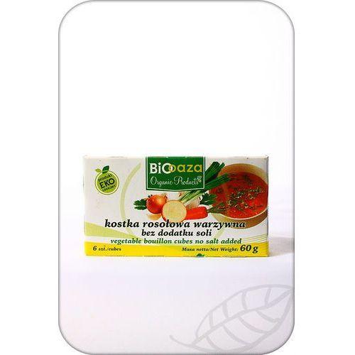 Biooaza Kostka rosołowa warzywna z minimalną zawartością soli 60g - bio oaza (5907771442457)