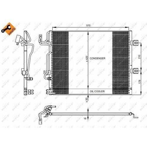 Skraplacz, klimatyzacja NRF 350223