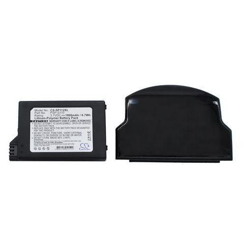 Cameron sino Sony psp-s110 1800mah 6.66wh li-polymer 3.7v powiększony czarny ()