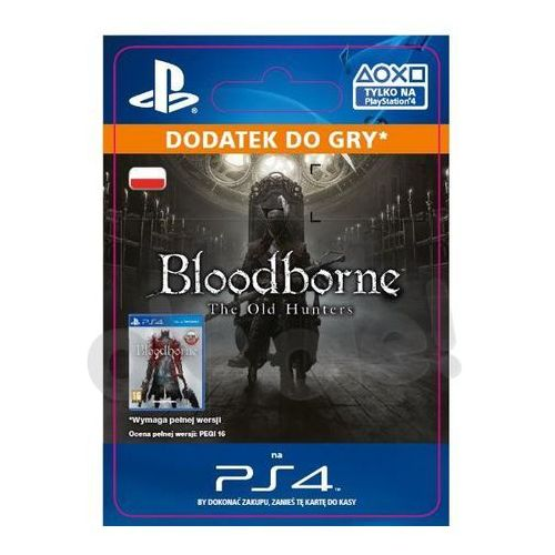 Bloodborne - the old hunters dlc [kod aktywacyjny] marki Sony