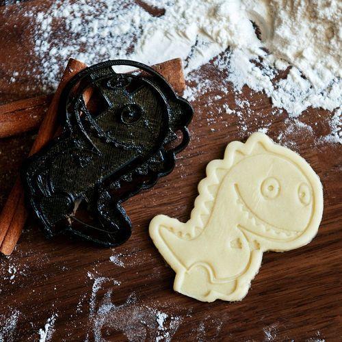 Dinozaur - foremka 3D do ciastek - Foremka 3D