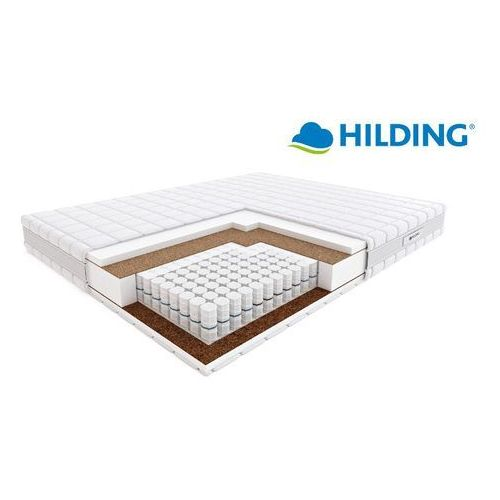 Materace hilding Hilding pasodoble - materac kieszeniowy, sprężynowy, rozmiar - 90x200, pokrowiec - velvet wyprzedaż, wysyłka gratis