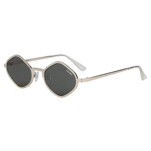 Quay australia Okulary słoneczne qc-000216 quayxkylie purple honey gld/grn