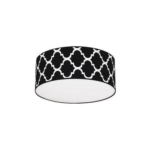 Plafon pierre black 3xe27 mlp4418 - - sprawdź kupon rabatowy w koszyku marki Milagro
