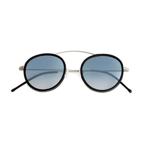 Okulary słoneczne metro 2 flat mr03cft/silver/black (gradient silver) marki Spektre