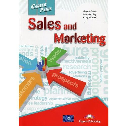 Career Paths Sales and Marketing SB - Jenny Dooley, Virginia Evans, oprawa miękka