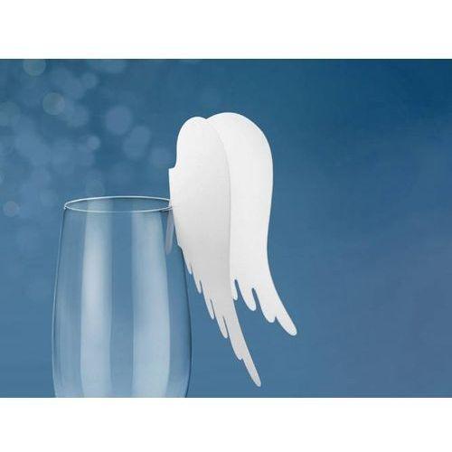 Dekoracje na szklanki skrzydełka - 10 szt. marki Unique