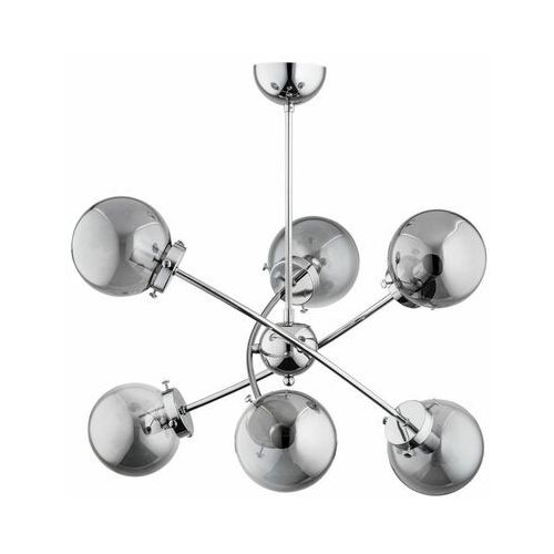 Alfa Lampa wisząca syla srebrna 6 x e14 (5900458621237)