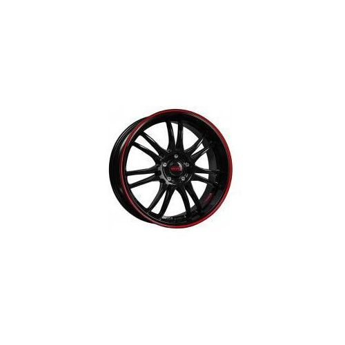 Dotz shift pinstripe red 8.00x18 5x100.0 et35.0