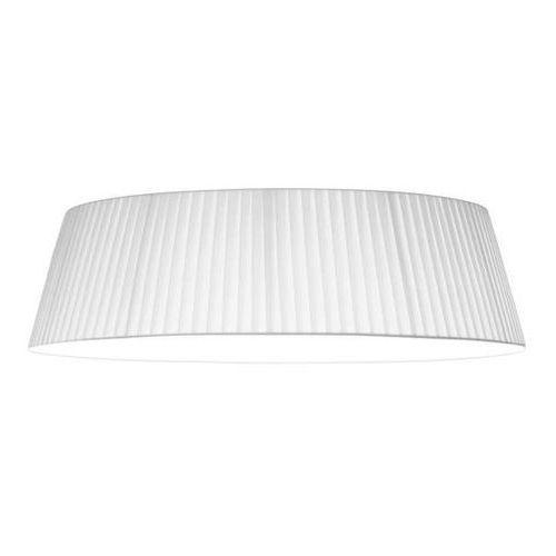 Plafon LAMPA sufitowa KAMI CEILING M/C/WHITE Sotto Luce abażurowa OPRAWA klasyczna plisowana biała, kolor Biały