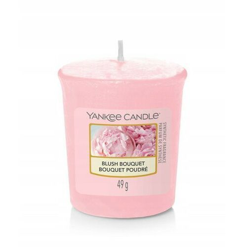YANKEE CANDLE VOTIVE ŚWIECA 49G BLUSH BOUQUET, 5038581099187