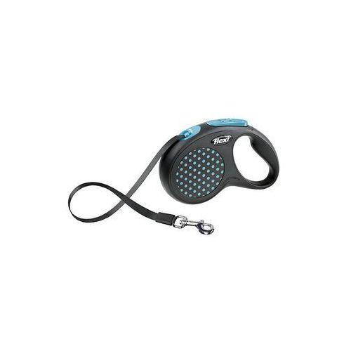 Flexi Smycz Design taśma S 5m niebieski