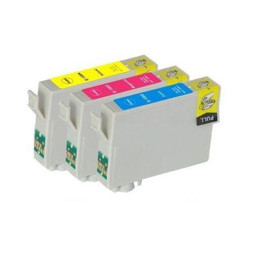 Epson 3 x tusz cmy t1006, c13t10064010 marki Zamiennik