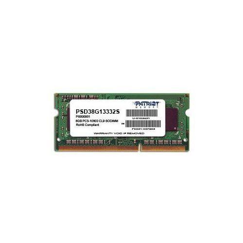 Pamięć RAM Patriot SO-DIMM DDR3 8GB 1600MHz PSD38G16002S