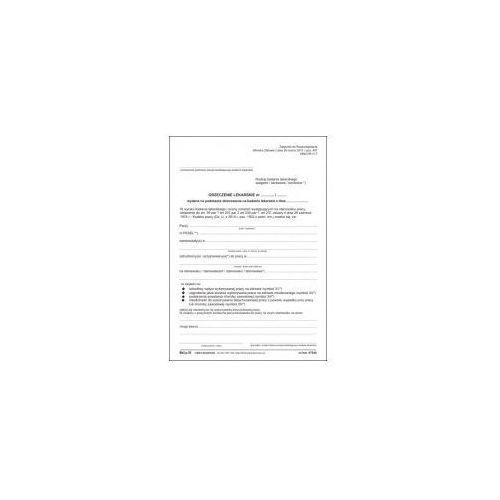 Orzeczenie lekarskie o niezdolności do pracy [Mz/Lp-26], 47544