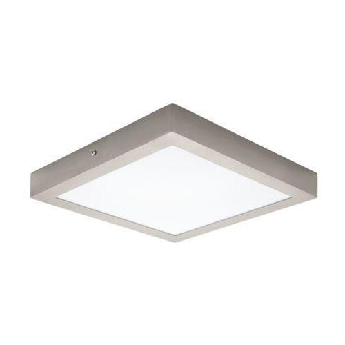Plafon lampa sufitowa fueva 1 94528 natynkowa oprawa led 22w kwadratowa nikiel satynowany marki Eglo