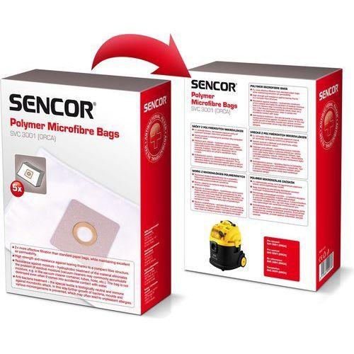 Worek do odkurzacza SENCOR SVC3001 (5 sztuk)