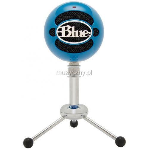 snowball eb mikrofon pojemnościowy usb (electric blue) od producenta Blue microphones