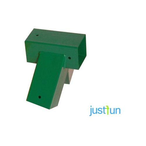 Łącznik do belki 90x90 mm, 100° - zielony