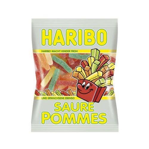 200g saure pommes kwaśne żelki niemieckie marki Haribo