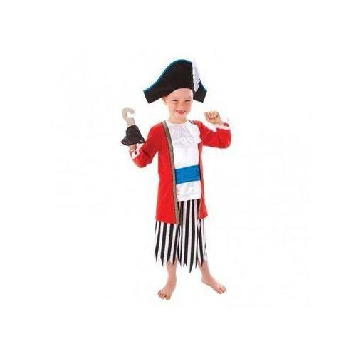 Amscan Kostium kapitan piratów dla chłopca - m - 128 cm (0013051343187)